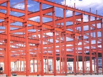سوله های صنعتی , سازه های صنعتیاسکلت فلزی